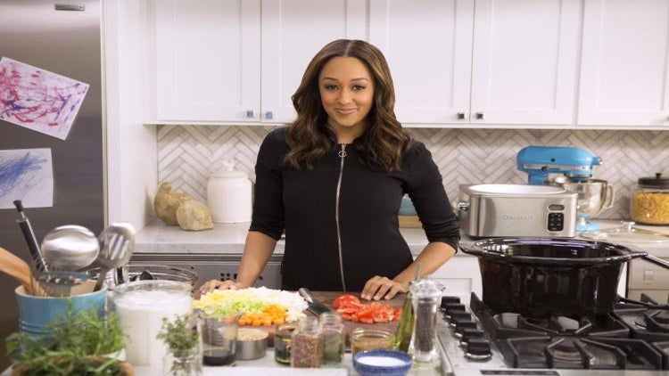 Tia Mowry-Hardrict's Number One Secret To Hosting A Holiday Brunch Your Girls Will Love