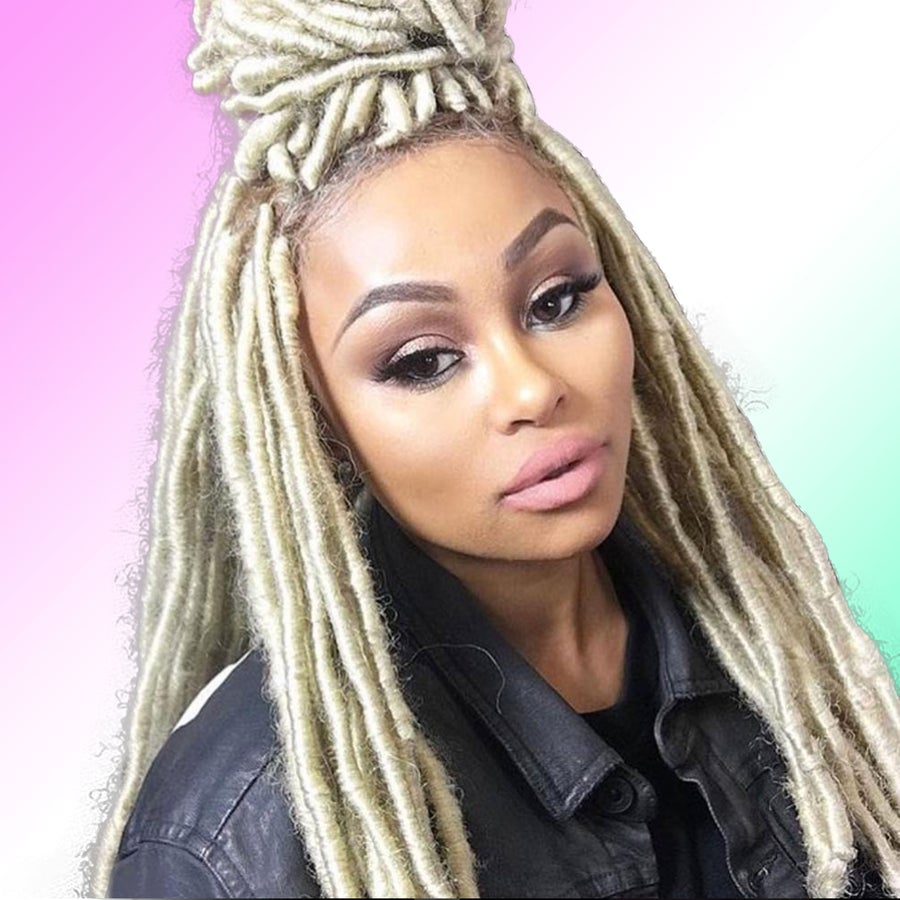 We're Swooning Over Blac Chyna's Bold New Look