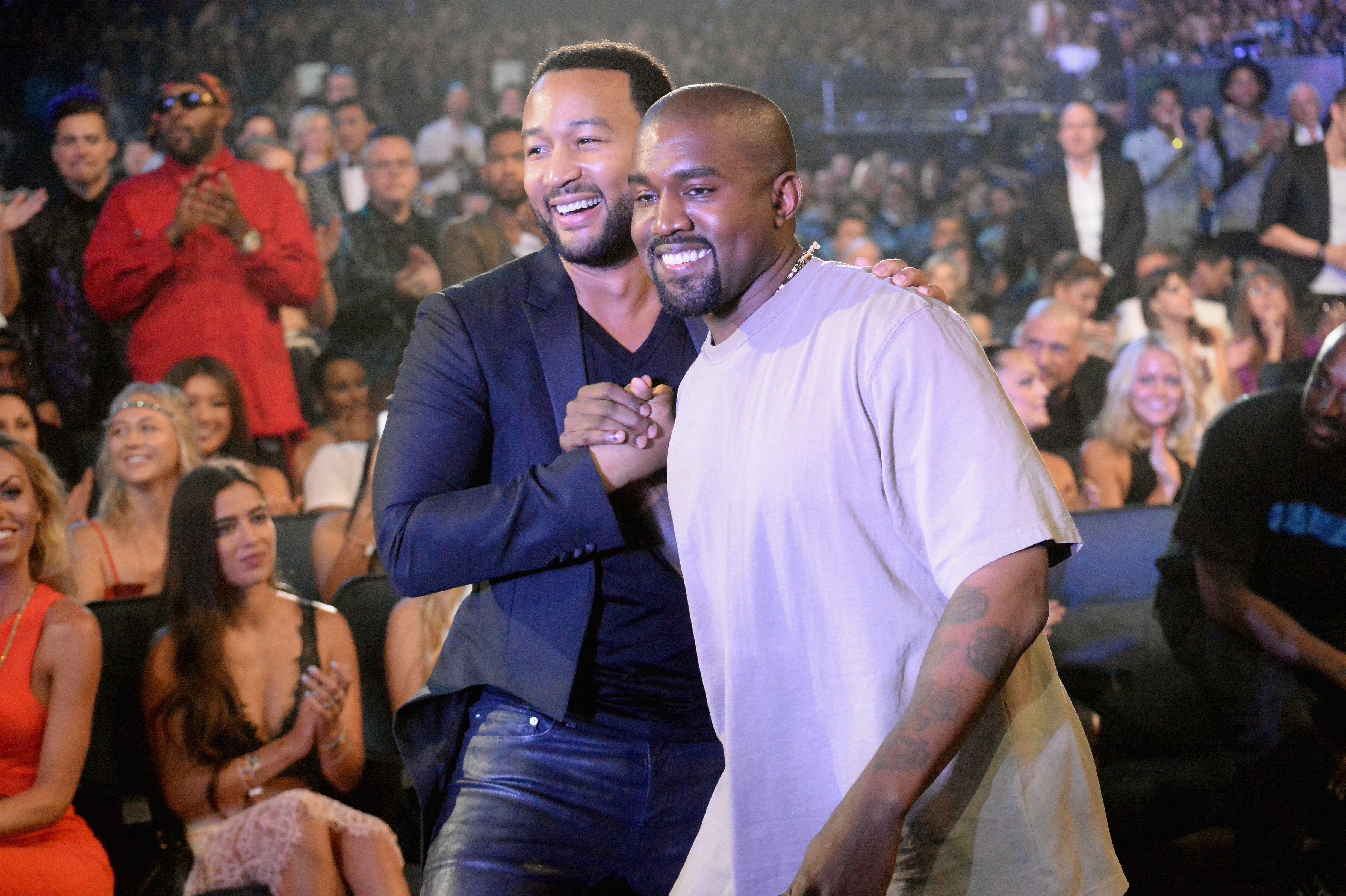 """John Legend Is """"Pretty Disappointed"""" With Kanye For Donald Trump Support"""