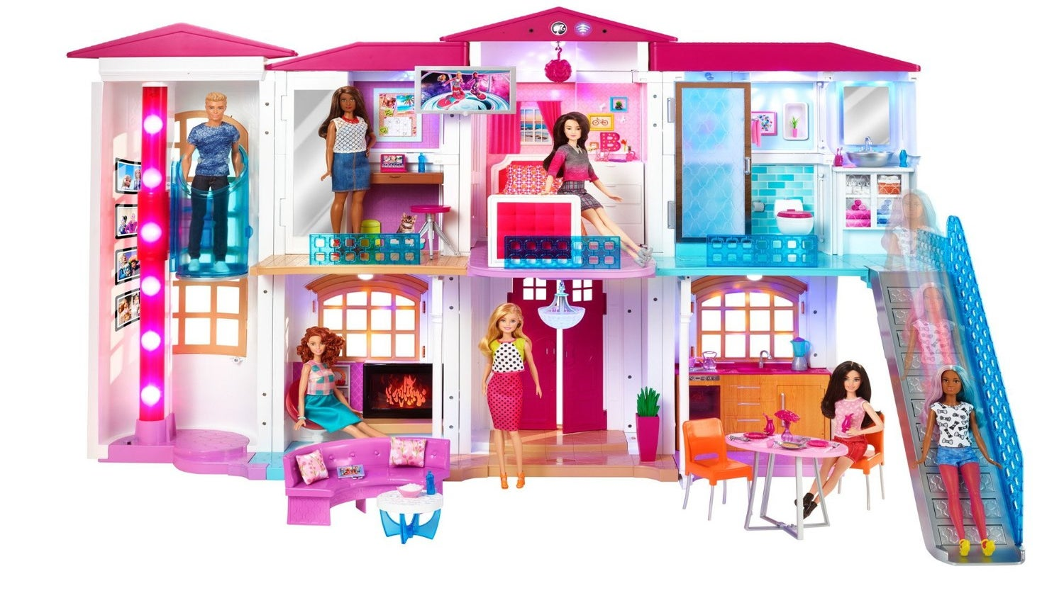This One of A Kind Doll House Is A Great Holiday Gift