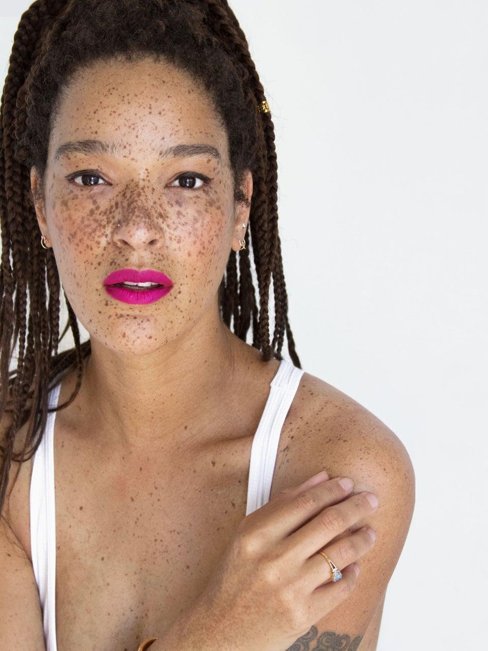 'Black Girl Beautiful' Creator Nikia Phoenix On Why She'll Never Hide Her Freckles