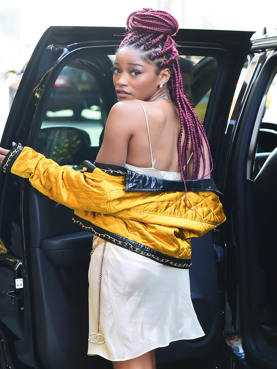 Keke Palmer Is Every Girl After She Leaves The Salon In This Video