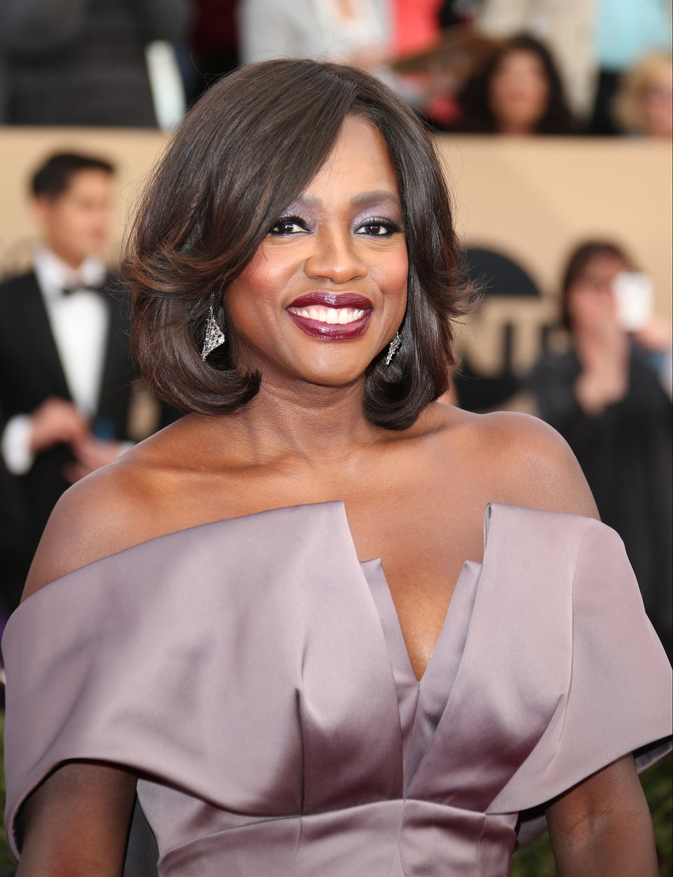 Oscar Buzz? Viola Davis Is Just Worried About Fitting Into Her Dress on the Big Night!