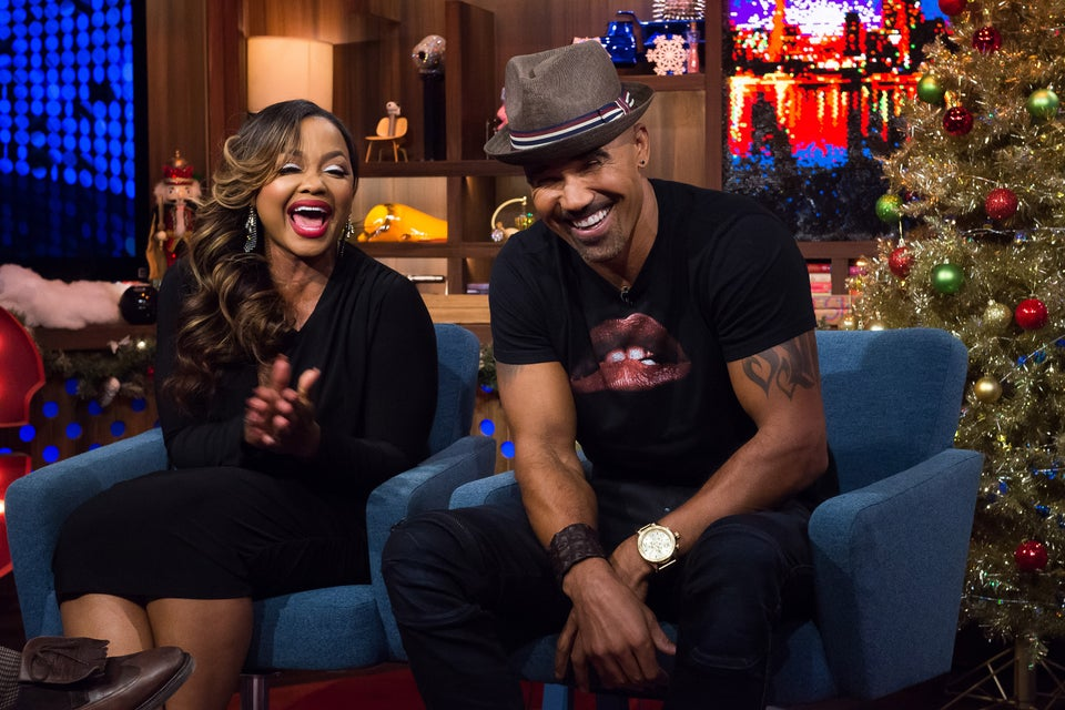 Phaedra Parks Had The Internet Thinking She Was Shemar Moore's New Baby Girl