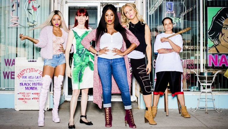 Rashida Jones' New Nail Salon Dramedy Stars Niecey Nash And Karrueche Tran