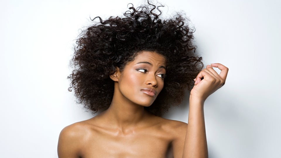 Here's What Happened When I Let an Old White Man Style My Natural Hair