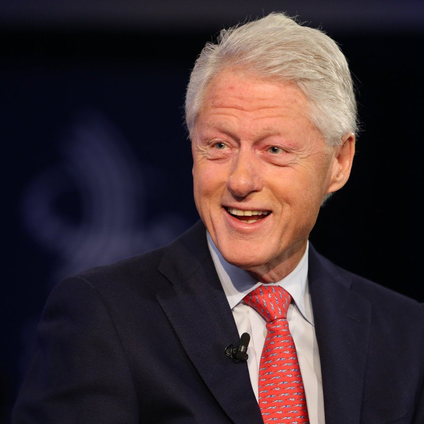 Bill Clinton On Trump: 'He Knows How To Get Angry White Men To Vote For Him'