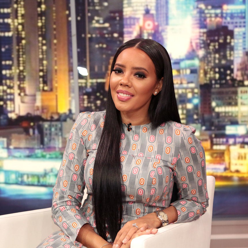 Hairstyle File Angela Simmons Talks New Hair Extensions