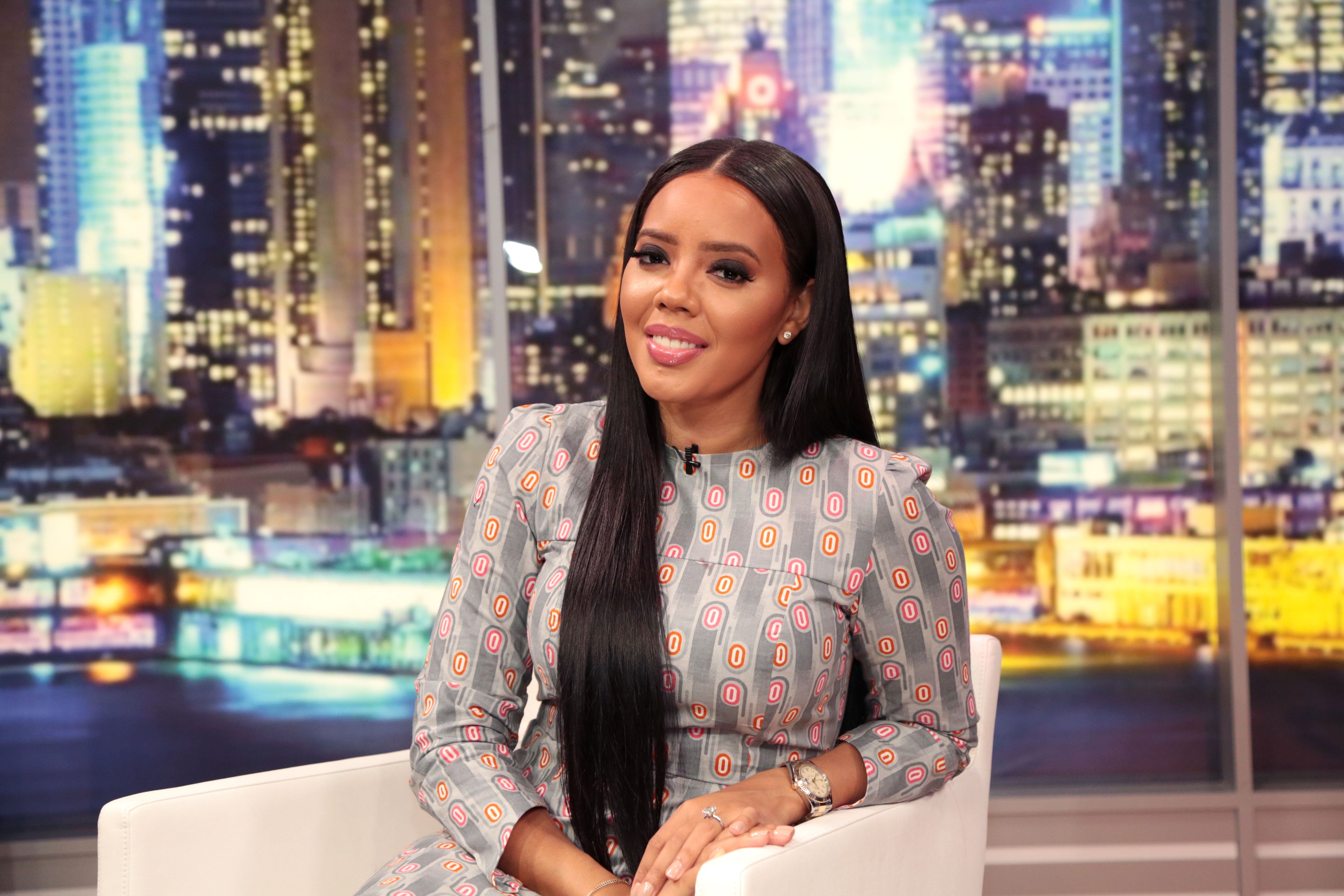 Hairstyle File Angela Simmons Talks New Hair Extensions Line Essence