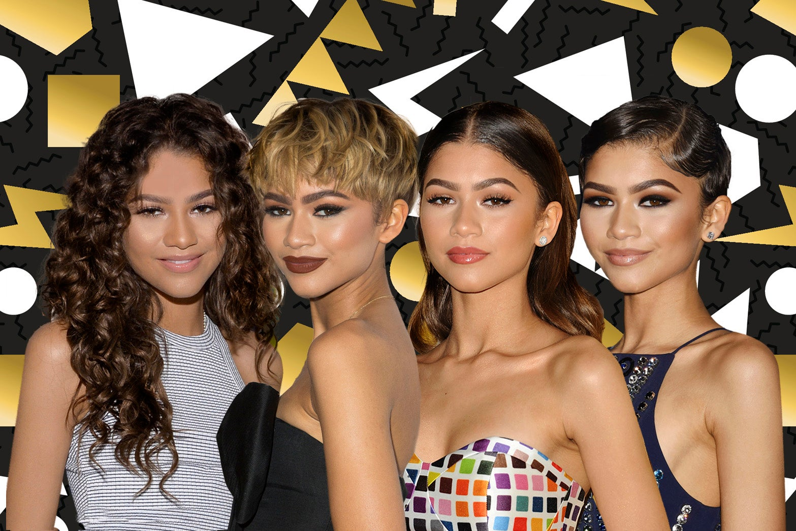 Proof That Zendaya Didn't Miss A Beauty Beat In 2016, Obvs