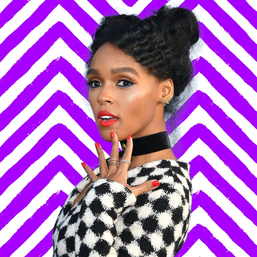 Janelle Monáe's Latest Hair Slay Is Eye-Conic