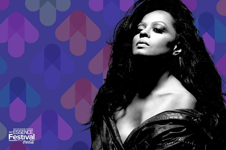 Diana Ross Headlines ESSENCE Festival For The First Time Ever!