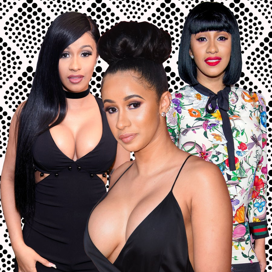 Cardi B.'s Unpredictable Hair Journey Gave Us Life In 2016