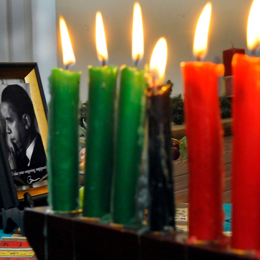 Obama Sends Final Kwanzaa Greeting As President On 50th Anniversary Of Holiday