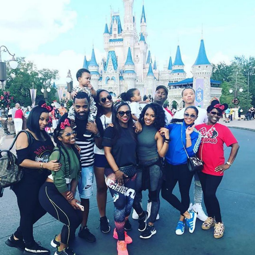Kandi, Tiny and Toya's Christmas At Disney World Is Picture Perfect