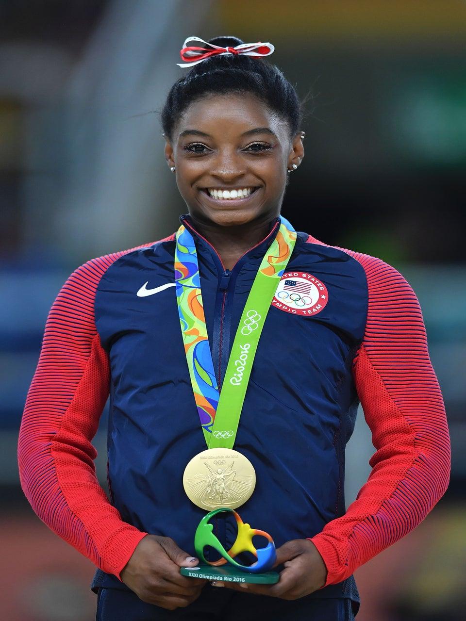 Black Girl Magic: Simone Biles Named AP Female Athlete Of The Year