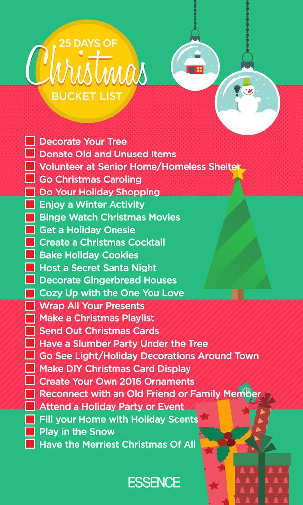 there are so many ways to get into the holiday spirit and to help here are 25 things to do to make your christmas the merriest of all