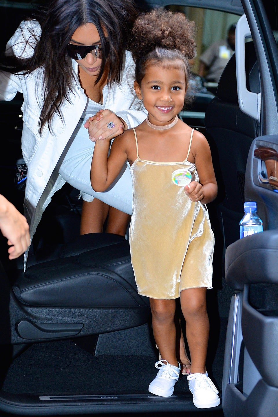 North West Models the First Pieces from Kanye and Kim's Cool-Kid Clothing Line