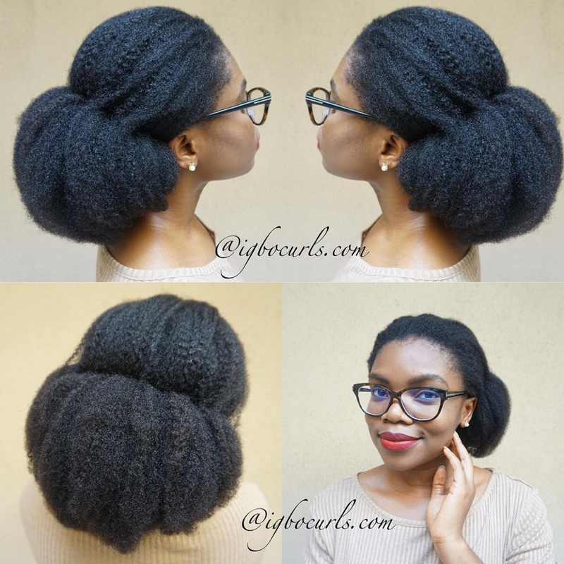 Easy Hairstyles For 4C Hair - Essence
