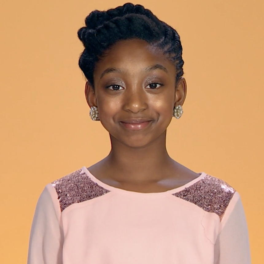 How To Style A Kid-Friendly Updo For The Holidays