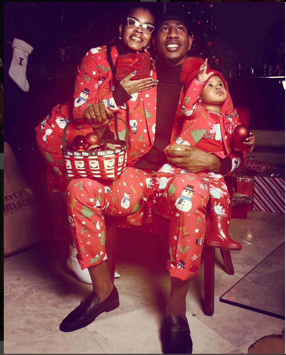 Teyana Taylor and Iman Shumpert's Christmas Was Picture Perfect