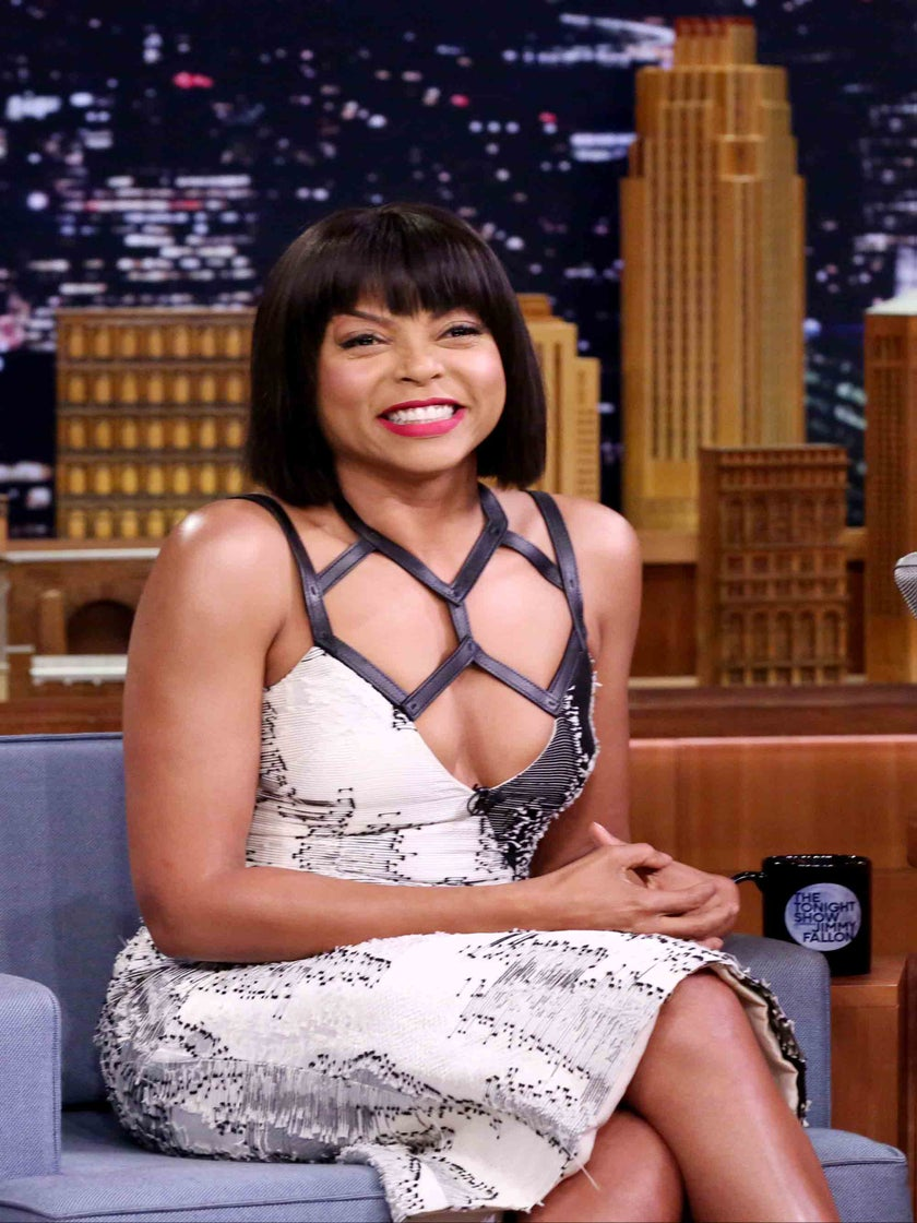 Taraji P. Henson Is Now A Member Of The Denim Chap Boots Hall Of Fame Thanks To Rihanna