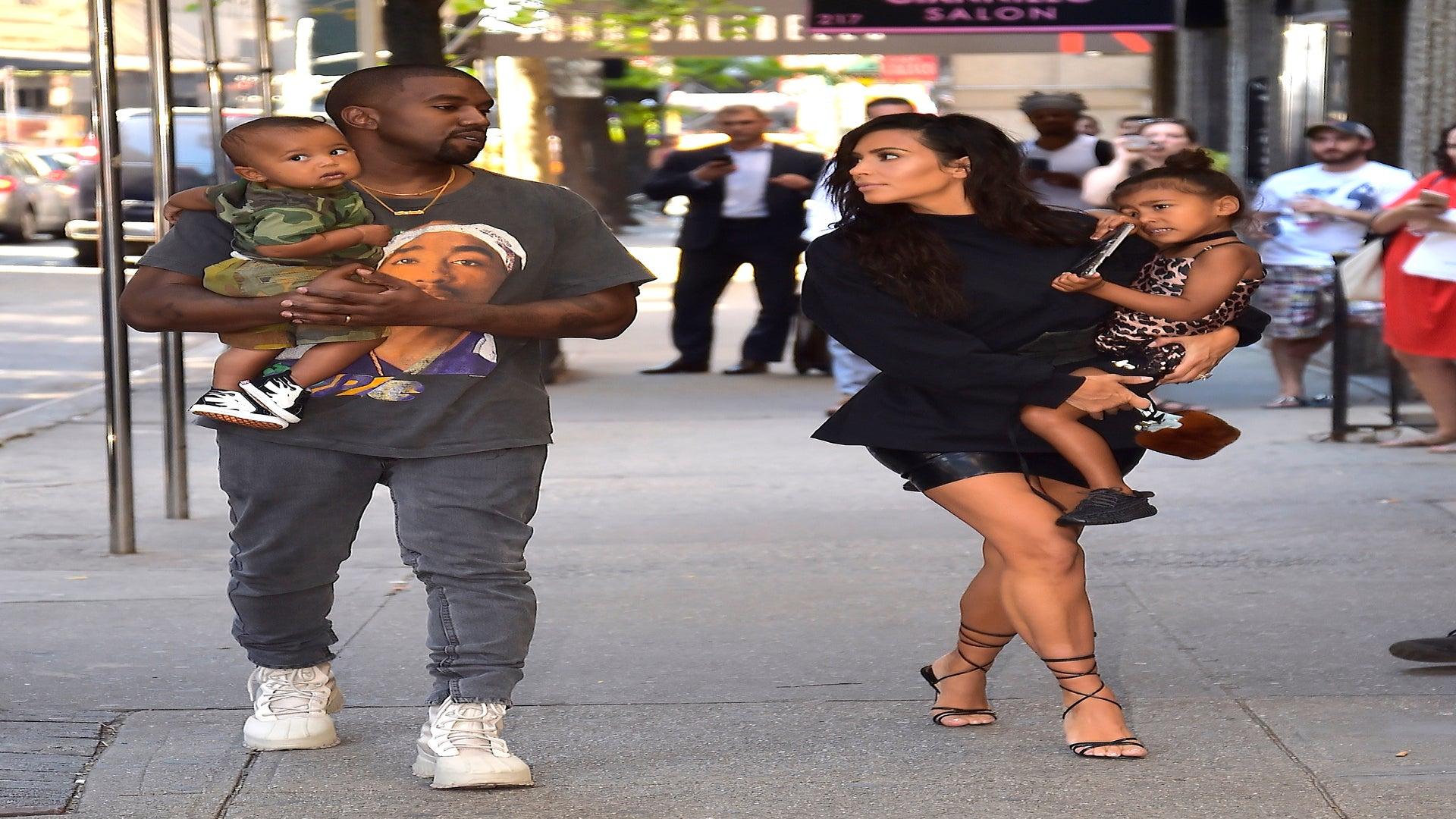 North And Saint In Kim Kardashian, Kanye West Home Videos