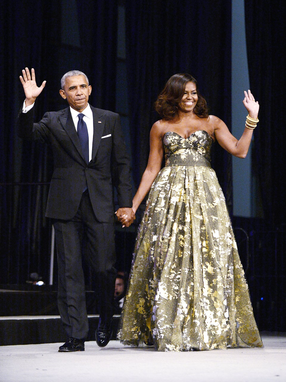 Everyone and Their Mama Showed Up for The Obamas' White House Farewell Party