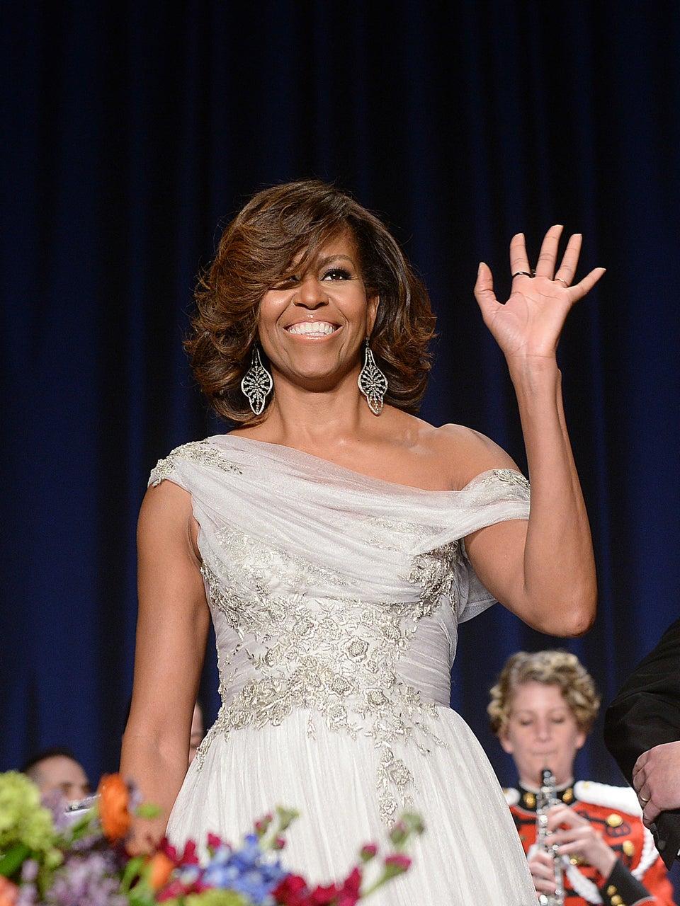 Farewell! Michelle Obama Takes Her Last Walk Through The White House