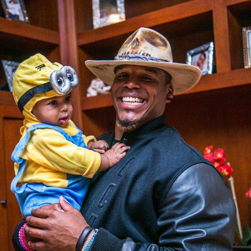 Grab Some Tissue! Cam Newton's Heartfelt Video To Son Will Bring You To Tears