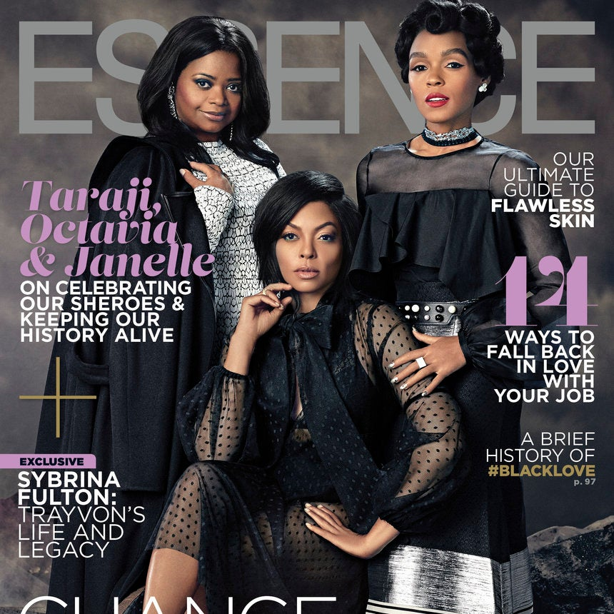 Taraji P. Henson, Octavia Spencer and Janelle Monáe Radiate ESSENCE's February 2017 Cover