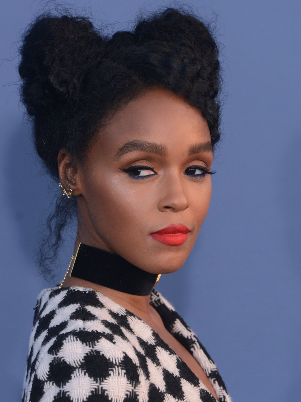Janelle Monáe's Gold-Wrapped Updo Is The Modern Goddess Style We Need To Try
