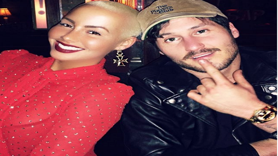 6 Things to Know About Amber Rose's New Boyfriend Val Chmerovshiky