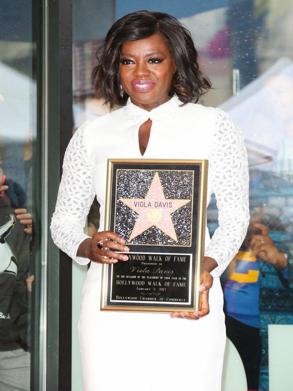 Viola Davis Got a Star on the Hollywood Walk of Fame