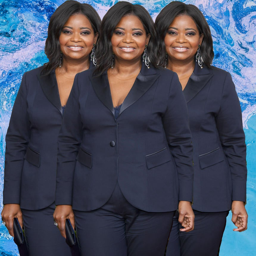 Octavia Spencer Delivers Super Sophisticated Look at 2017 Golden Globes