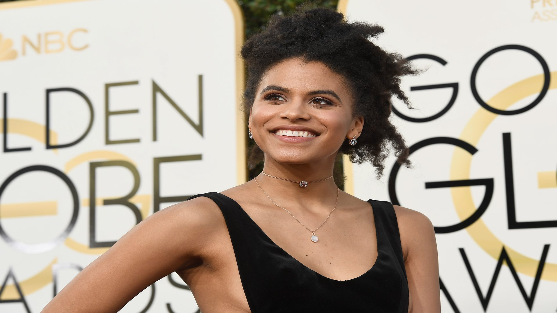 'Atlanta' Actress Zazie Beetz Is Top Naturalista At The 2017 Golden Globes