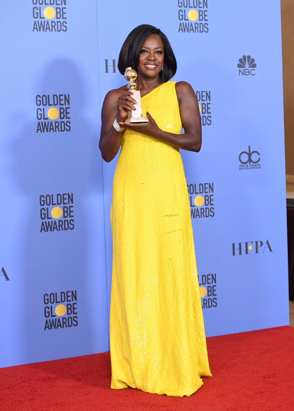 Viola Davis Talks President-Elect Donald Trump Post Golden Globe Win