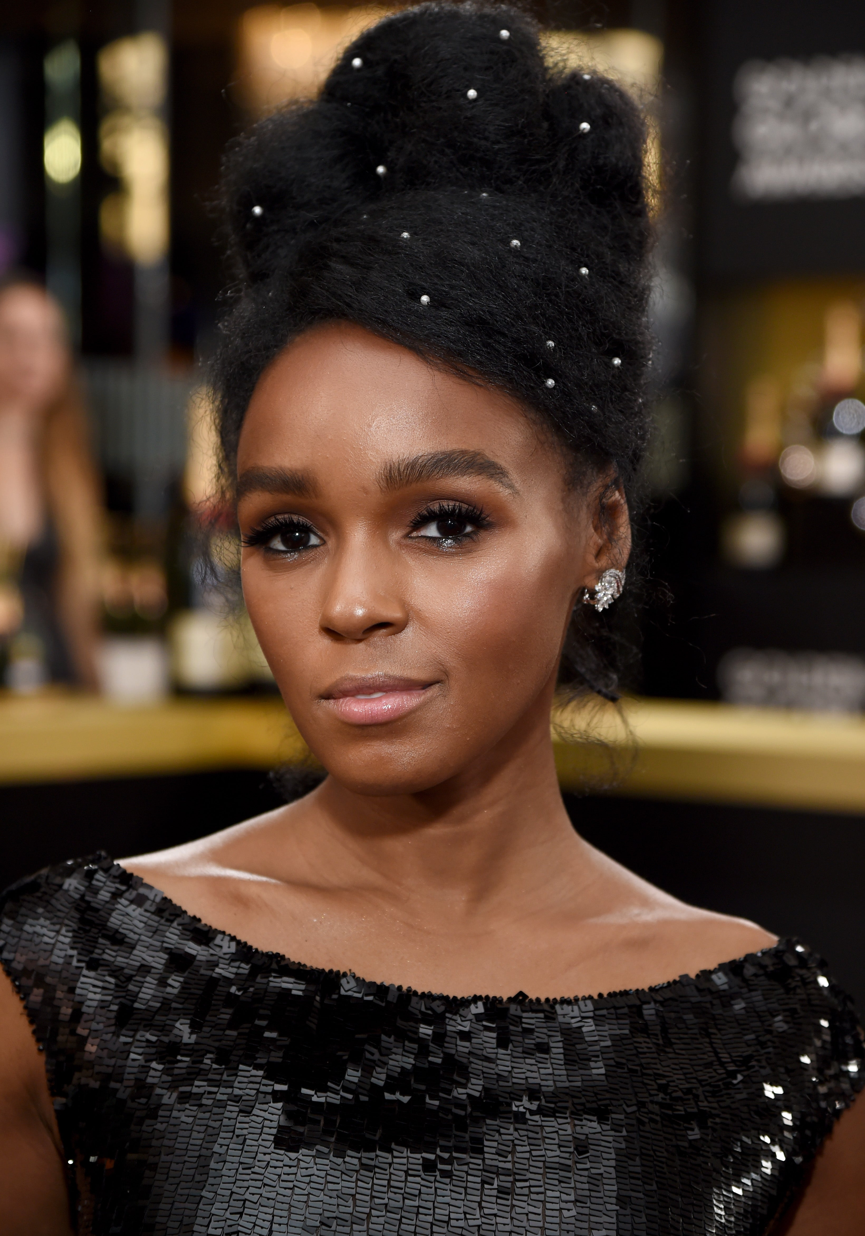 Janelle Monáe's Golden Globes Makeup Look Is Courtesy Of This Drugstore Brand