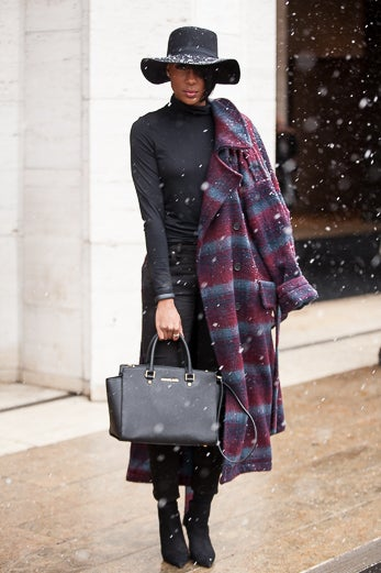 29 Street Style-Inspired Ways to Add Some Funk to Your Winter Outerwear