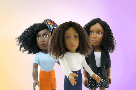 39a02461bf839 The Latest  Shark Tank  Success Story Is A Line Of Natural Hair Dolls