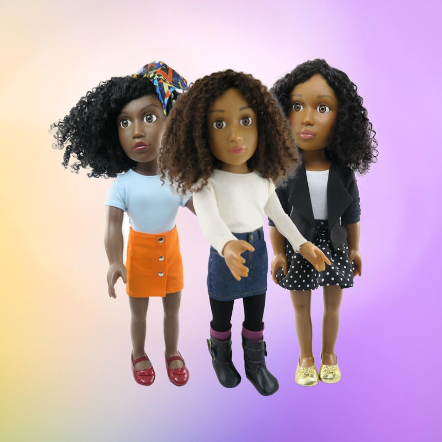 The Latest 'Shark Tank' Success Story Is A Line Of Natural Hair Dolls