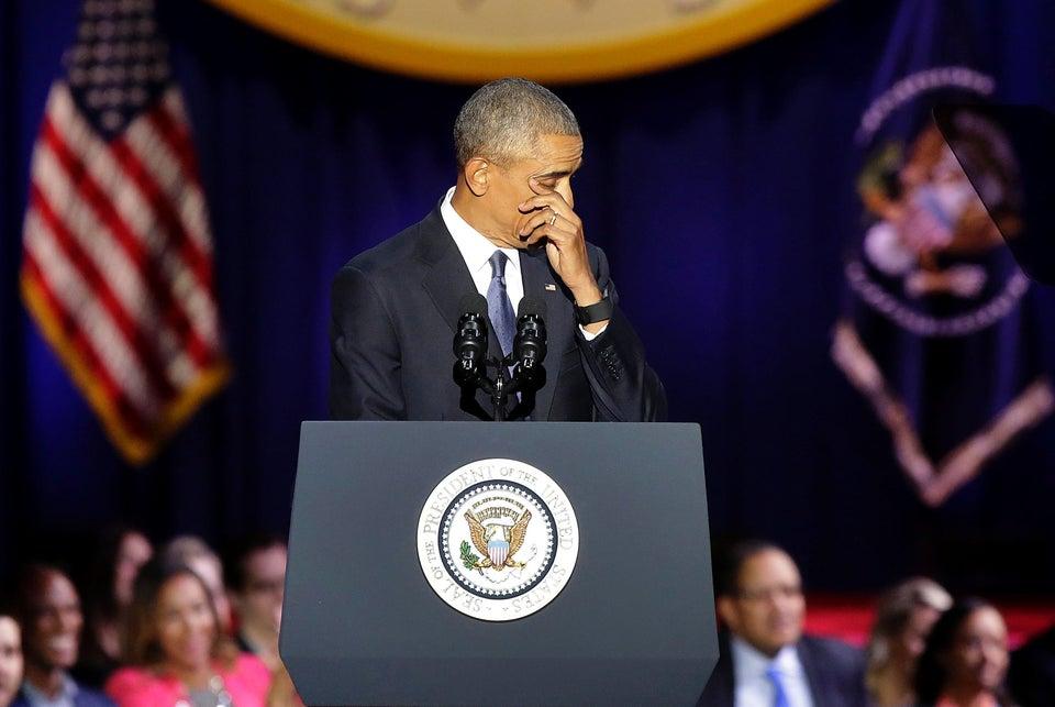 Celebrities Share Their Heartfelt Reactions To President Obama's Final Speech