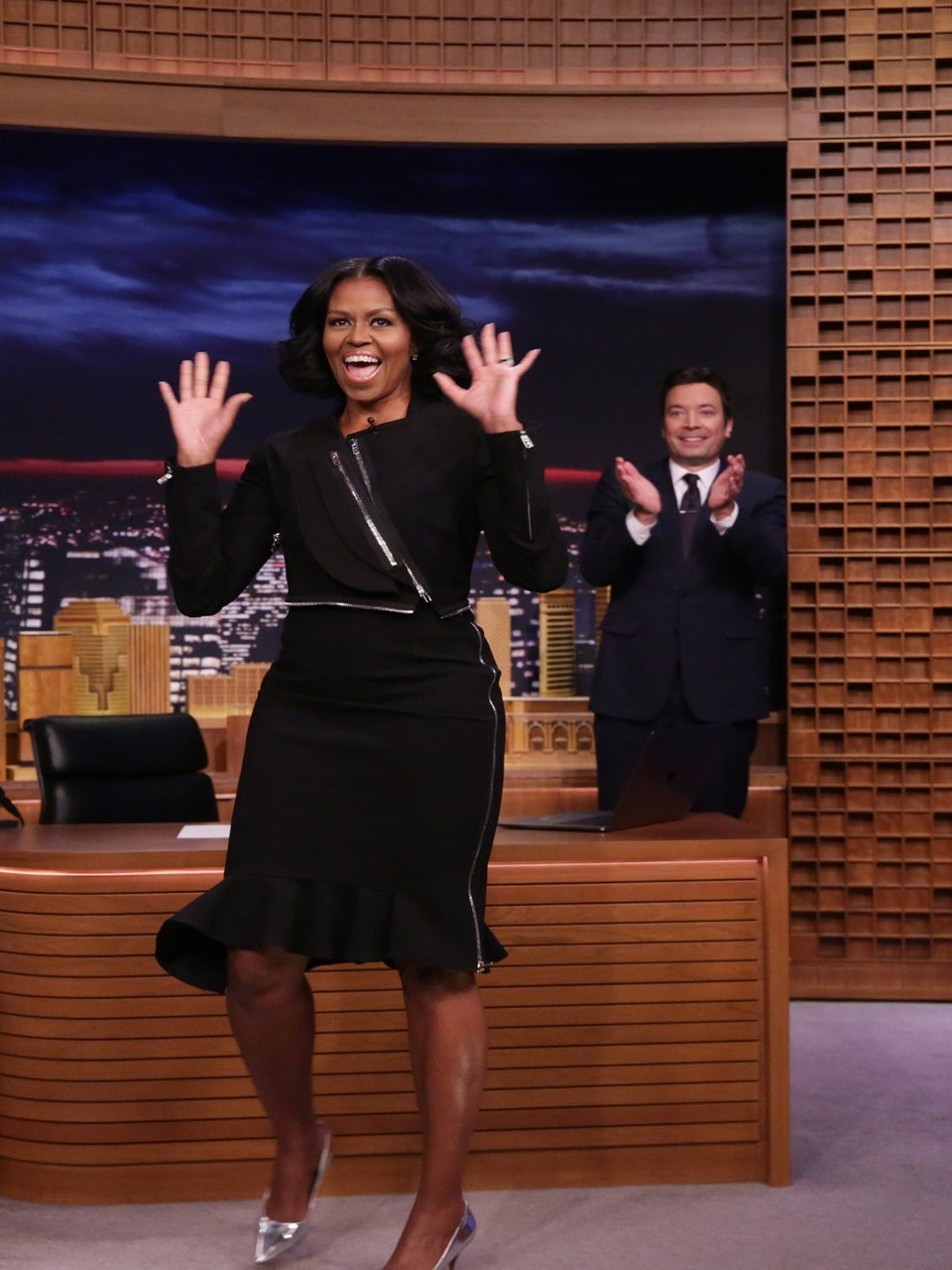 Michelle Obama's Emotional Goodbye On 'Fallon' Has Us All In Tears