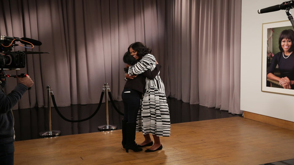 Grab Some Tissue! This Video Of Michelle Obama Surprising Her Biggest Fans Will Give You All The Feels
