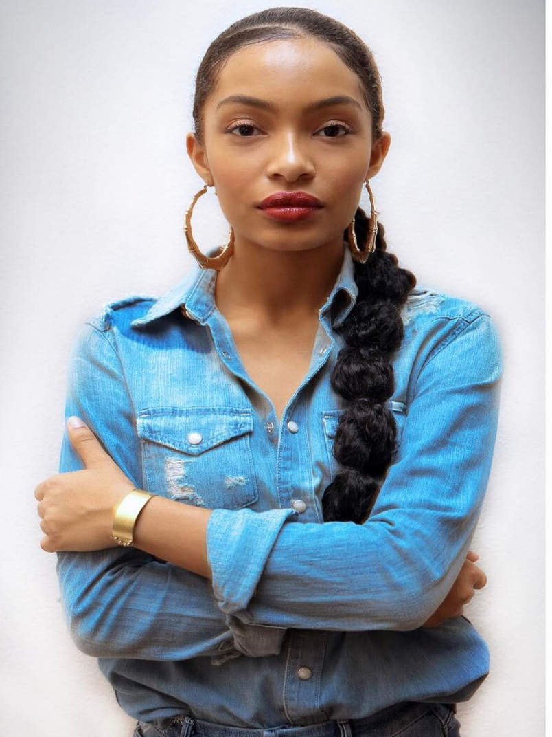Yara Shahidi Effortlessly Channels Sade in Spot-On Homage