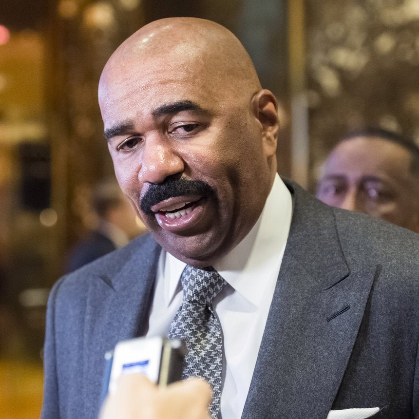 #SayWhat: Steve Harvey Meets With Trump -- And Nobody Understands Why