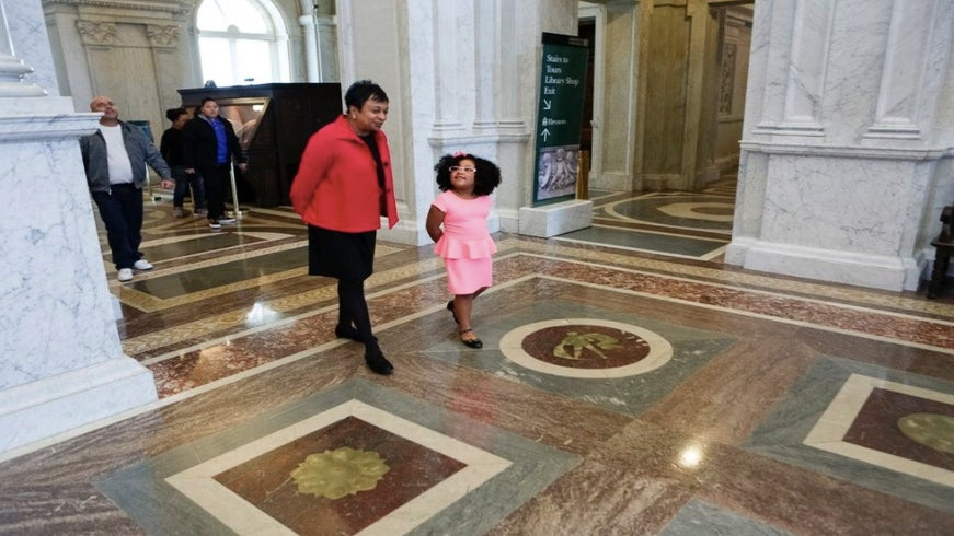 "This 4-Year-Old Has Read Over 1,000 Books And Just Became Library Of Congress' ""Librarian For A Day"""