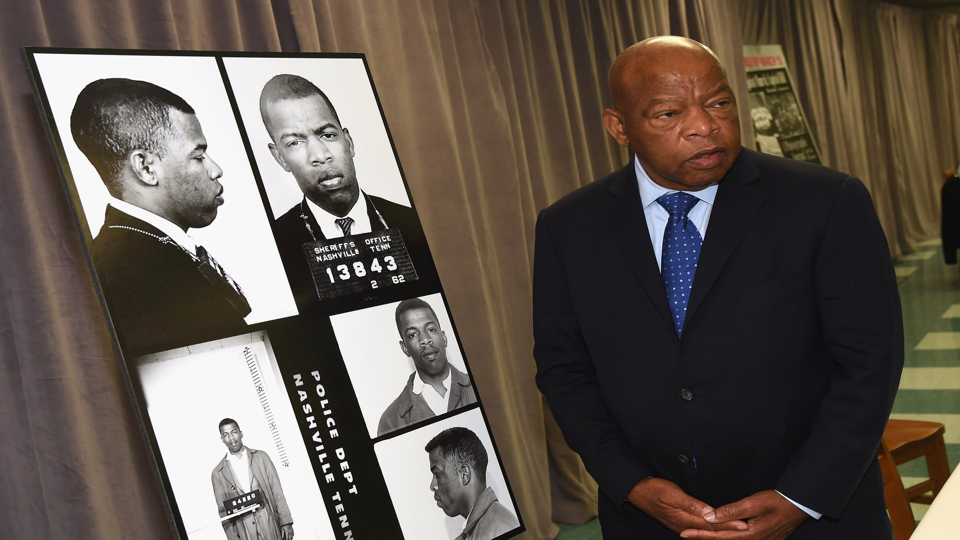Congressman John Lewis Was Moved To Tears By Civil Rights Exhibit