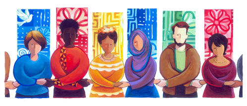 Google's MLK Day Doodle Emphasizes Unity Among People Of Color
