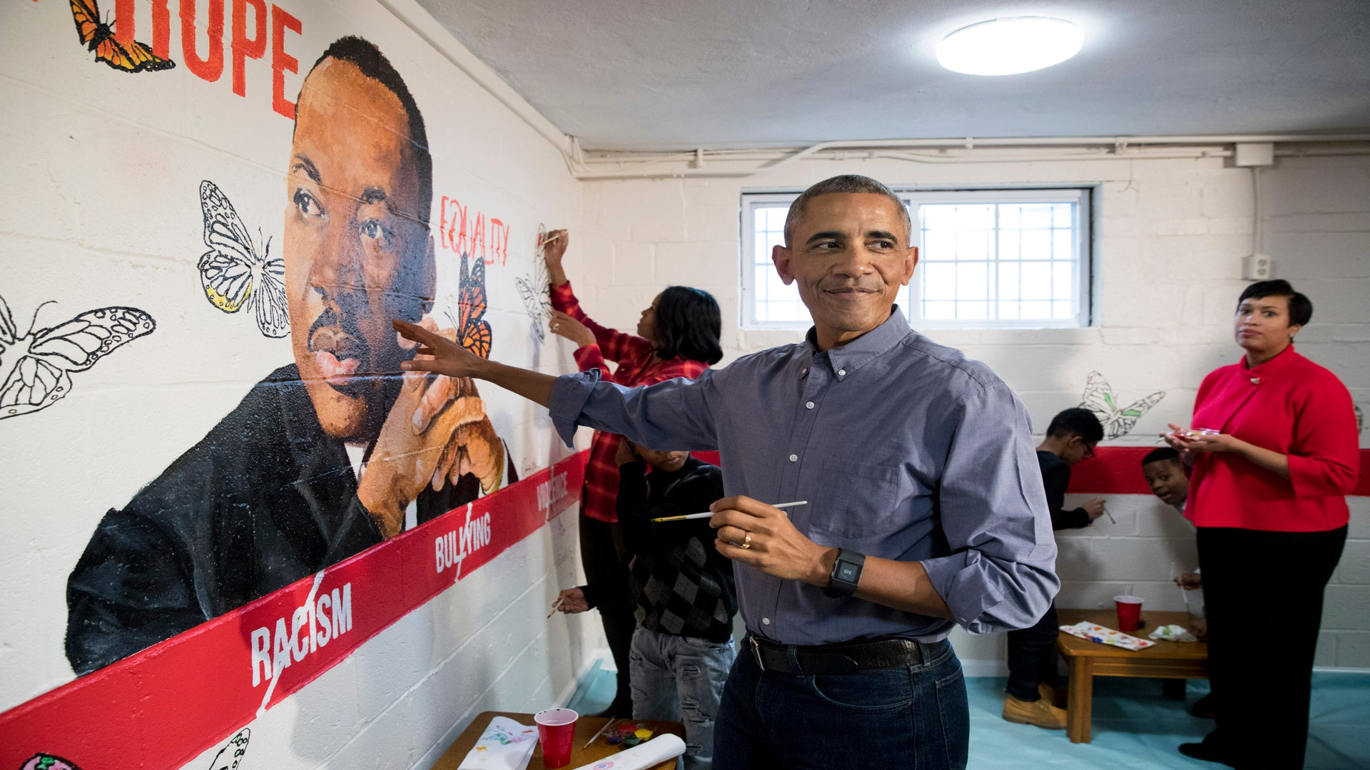 Obama And Celebrities Pose For MLK Day Photo On Instagram